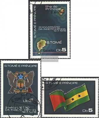 Sao Tome e Principe 509-511 (complete issue) used 1978 independ