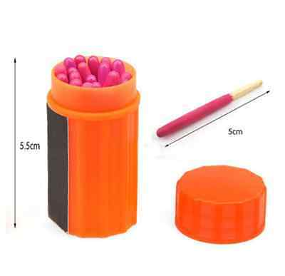 1 Box*Portable Extra-Large Head Matches Windproof Waterproof Outdoor New