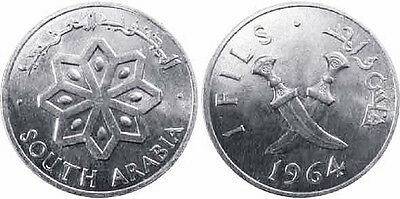 South Arabia 1964 1 Fils Uncirculated (KM1)