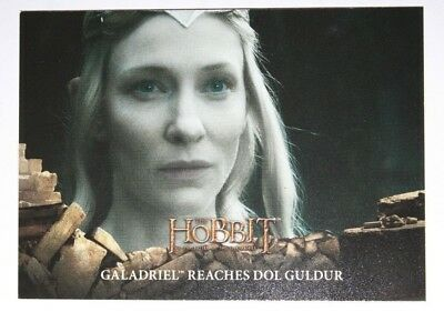 THE HOBBIT  Galadriel  Battle of the Five Armies  Cryptozoic Trading Card