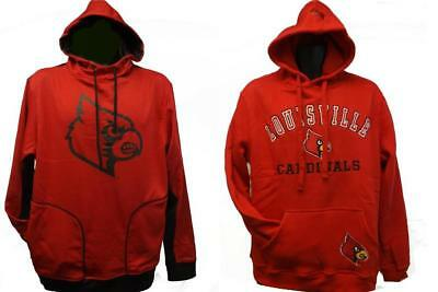 New Louisville Cardinals Mens Sizes S-M-L-XL-2XL Red Nice Quality Hoodie