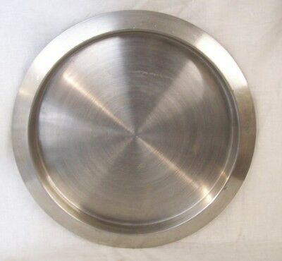 "Restaurant Supplies STAINLESS STEEL SERVING TRAY 16"" DIAMETER"