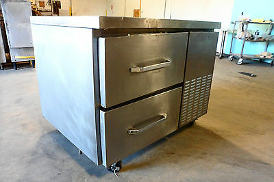 """Heavy Duty Commercial Stainless Steel """"continental"""" Under Counter Refrigerator"""