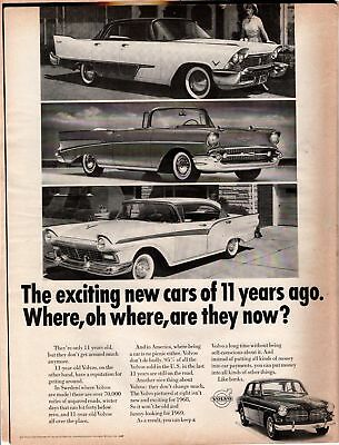 Life Magazine Advertisement 1968 Volvo 1 Page AD   A257