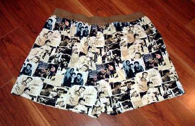 RARE TV Land 2005 The Andy Griffith Show TAGS Men's Boxer Sleep Shorts M - NWOT