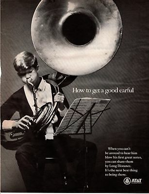 1967 Life Magazine Advertisement AT&T 1 Page AD   A261