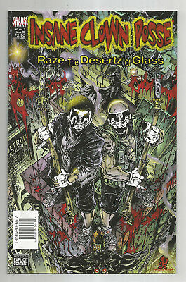 Insane Clown Posse # 1 * Volume 3 * Raze The Desertz Of Glass * 1999