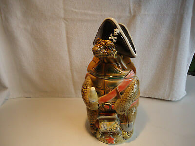 Rare Tradex Corona Beer Stein Turtle limited edition 1998 #930  advertising