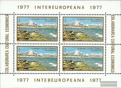 Romania block142 (complete issue) unmounted mint / never hinged 1977 INTEREUROPA