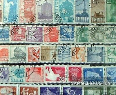 Romania 150 different stamps