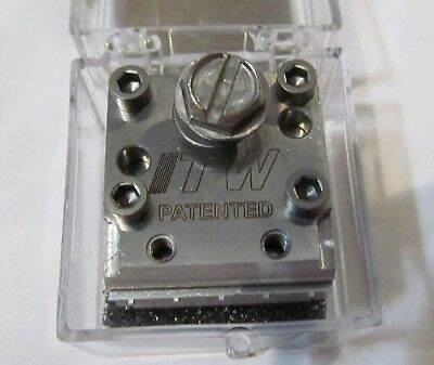 New Itw Dynatec  Industrial Ufd Line Hot Melt Glue Spray Nozzle 111582
