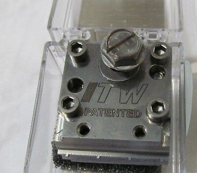New Itw Dynatec  Industrial Ufd Line Hot Melt Glue Spray Nozzle 119154