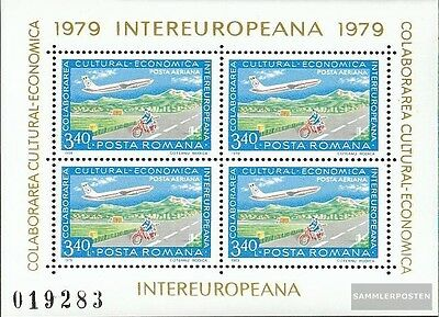 Romania block158 (complete issue) unmounted mint / never hinged 1979 INTEREUROPA