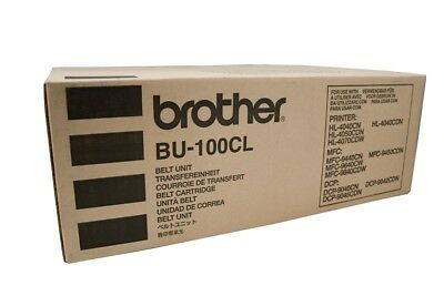 2x Brother Genuine BU-100CL BELT UNIT For HL4040CN MFC9450CD DCP9040 60K Pages