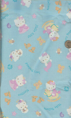 Andover Let/'s Pretend A 7626 T Turquoise//Black Doll Clothes Cotton Fabric