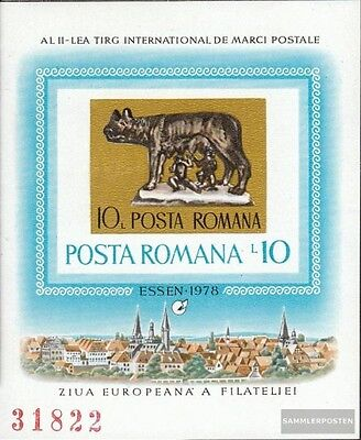 Romania block155 (complete issue) unmounted mint / never hinged 1978 Stamp Fair