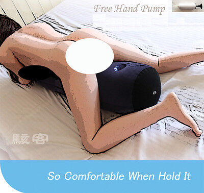 AU Cozy Feel Sex Pillow For Couples Cylindrical Soft air Inflatable Portable