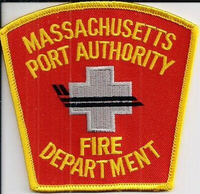 Ärmelabzeichen Massachusetts Port Authority Fire Department