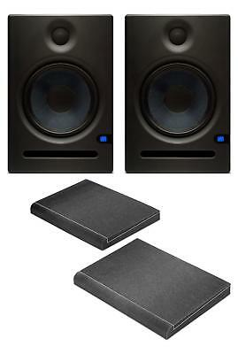 PreSonus Eris E8 aktives Studiomonitor-Paar Set Lautsprecher Absorberplatten