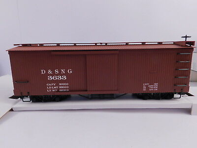Bachmann G 93322. US Boxcar D&SNG 3633 in OVP. ##K-7-2
