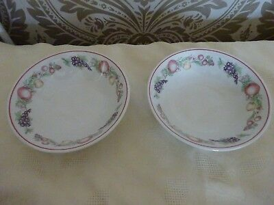 Boots Ceramic Orchard Pair of Cereal Bowls