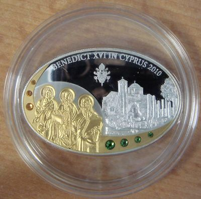 Cook Islands 5 dollars 2010 Swarovski Silber Proof PP