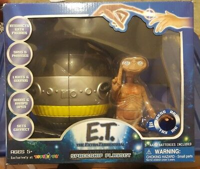 E.T. the Extra-Terrestrial 1982 Rolling Spaceship with E.T. Figure talks new