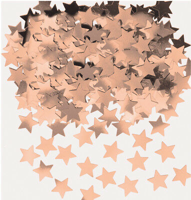 Rose Gold Stars Table Confetti Engagement Wedding Birthday Party Decorations