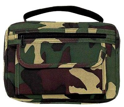 Camouflage Camo Genuine Quality Bible Book Cover Wallet Christian Jesus BIB-0001