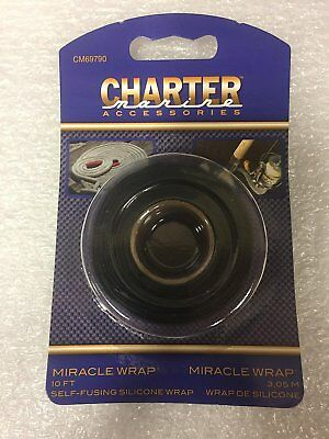 5834 Charter Marine Miracle Wrap 10ft Self Fusing Silicone Wrap CM69790