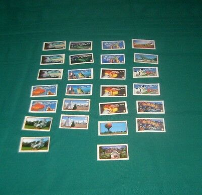 Doral Cigarettes Advertisment Collectible Tobacco Card Lot 26  Ufo Fish Teepee