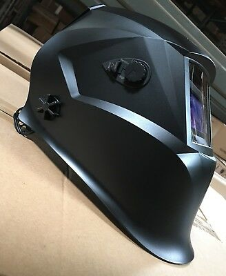 BLACK500 Auto Darkening Welding Helmet Mask 4 sensors,DIN 9 to 13
