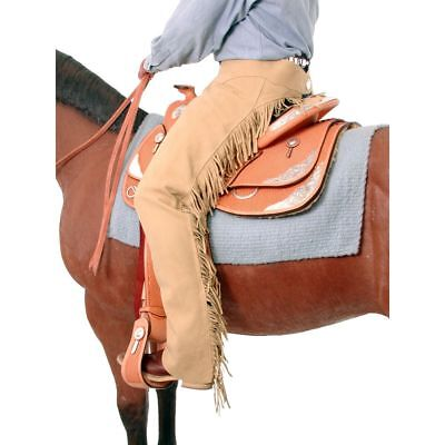 Horse Western Riding Tough-1 Synthetic Equitation Chaps 924315P