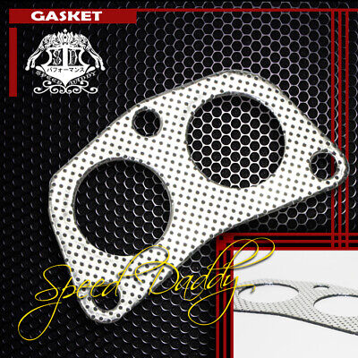 54MM 3-BOLT//BOLTS WASTEGATE ALUMINUM GRAPHITE GASKET TURBO//CHARGER//MANIFOLD//PIPE