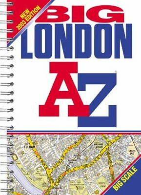 (Good)-A-Z London Big Street Atlas (Paperback)-Geographers' A-Z Map Company-1843