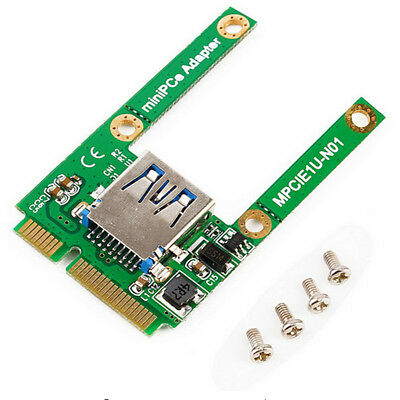 Mini PCIe mPCIe to USB 2.0 Port Card Support PCI Express Expansion Converter