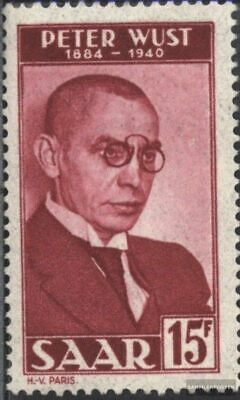 Saar 290 (complete issue) unmounted mint / never hinged 1950 Peter wust