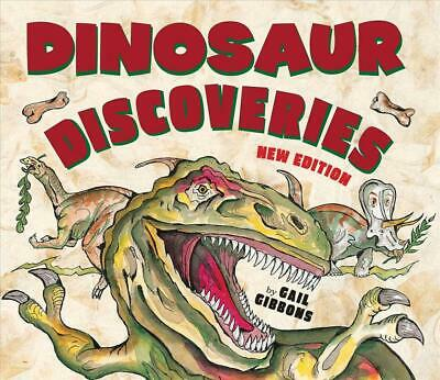 Dinosaur Discoveries by Gail Gibbons Paperback Book Free Shipping!