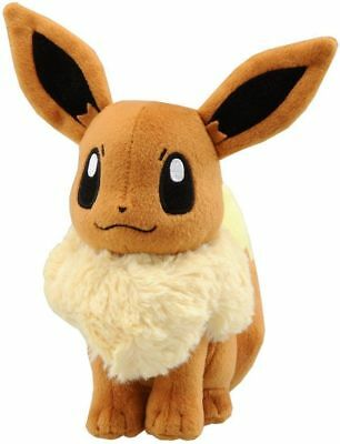 "Pokemon Pocket Monster Eevee Plush Toys Soft Stuffed Doll 6"" 14cm"