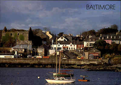 Post Card IRELAND Irland BALTIMORE Fishing Village See View color Ansichtskarte