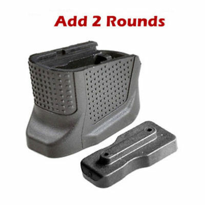 Tactical Black Handle Fab Defense For Glock 43 Magazine Extension Recover