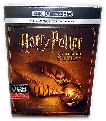 Harry Potter complete box-set [4K UHD+Blu-Ray] 16-Disc, Import Region B/2
