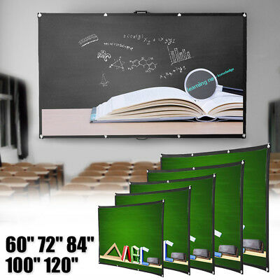 120inch HD Projector Screen 16:9 Home Cinema Theater Projection Portable Screen