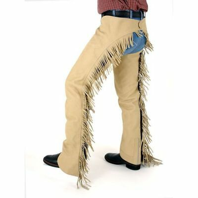 Horse Western Riding Tough-1 Luxury Suede Chaps 924325P