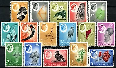 Swaziland 1962-6 SG#90-105 QEII Definitives MNH Set #D73414