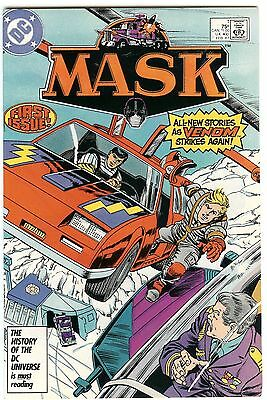Mask #1 (80's Cartoon) Nm Condition/9.0 Curt Swan Art Combined Shipping L@@k!!!!