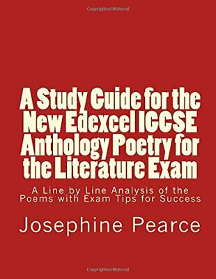 A Study Guide for the New Edexcel IGCSE Anthology Poe... by Pearce, Ms Josephine
