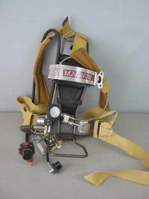ISI Magnum Breathing Apparatus SCBA Back Pack w/Regulator - No Tank