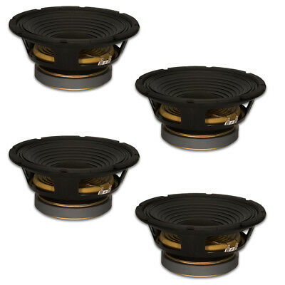 "4 Goldwood Sound GW-1258 Pro 12"" Woofers 50oz Magnets 290 Watts each Speakers"