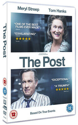 The Post DVD (2018) Meryl Streep